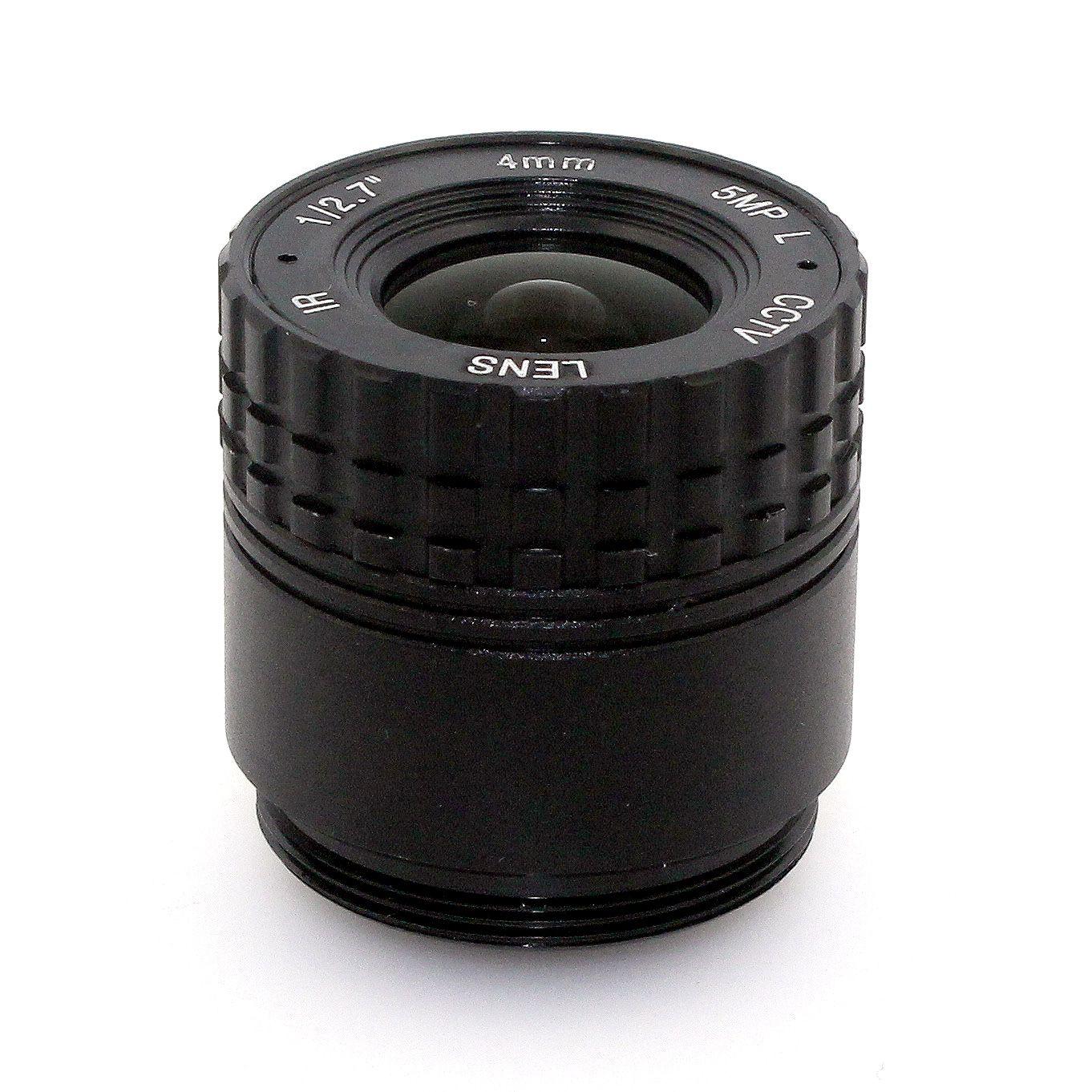 """Obiettivo F1.4 5MP 4mm 6mm 8mm 12mm cs Obiettivo 1 / 2,5 """"IR CS fisso"""