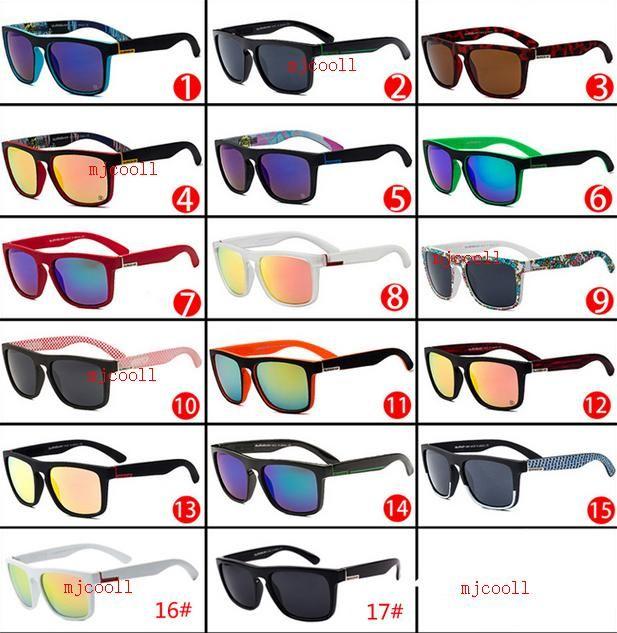 Neue mode frauen männer reiten und fahrer sonnenbrille sonnenbrille 17 farben können wählen mit box und tag