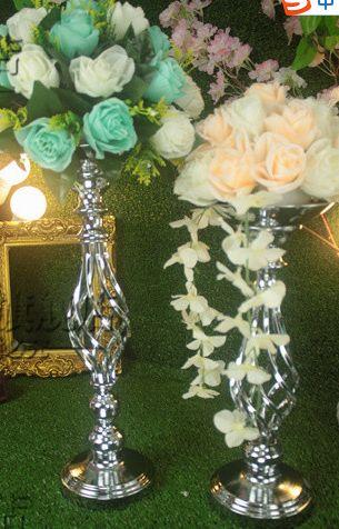 Decorazione di nozze di lusso, decorazioni per la casa, candelabri, portacandele per candele mentali, candelabri nuziali, tutto per la casa