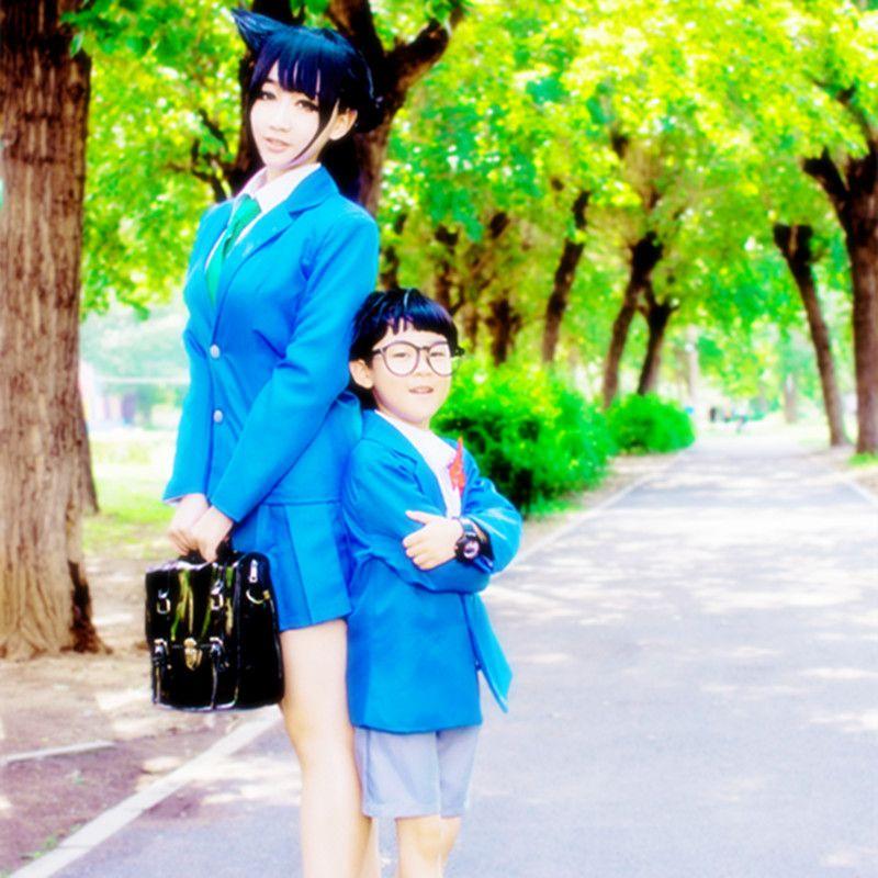 모리 란 코스프레 의상 일본의 애니메이션 형사 코난, 케이스 옷 입히기 / 마디 그라 / 카니발 의상