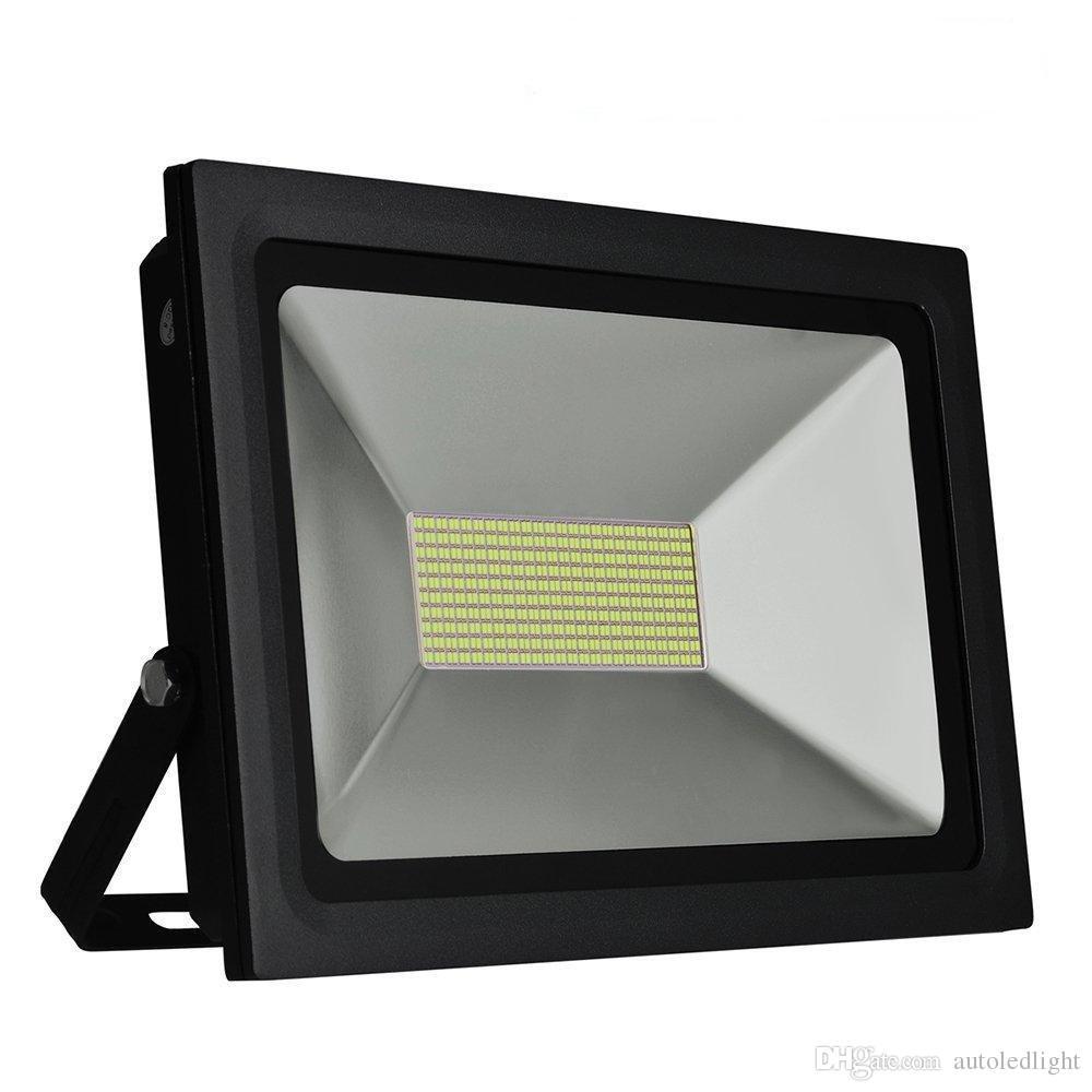 Ultrathin LEVOU Luz de Inundação 200 w 150 w 100 W 60 W 30 W 15 W Holofote LED IP65 À Prova D 'Água 220 V 110 V LEVOU Holofotes Iluminação Ao Ar Livre