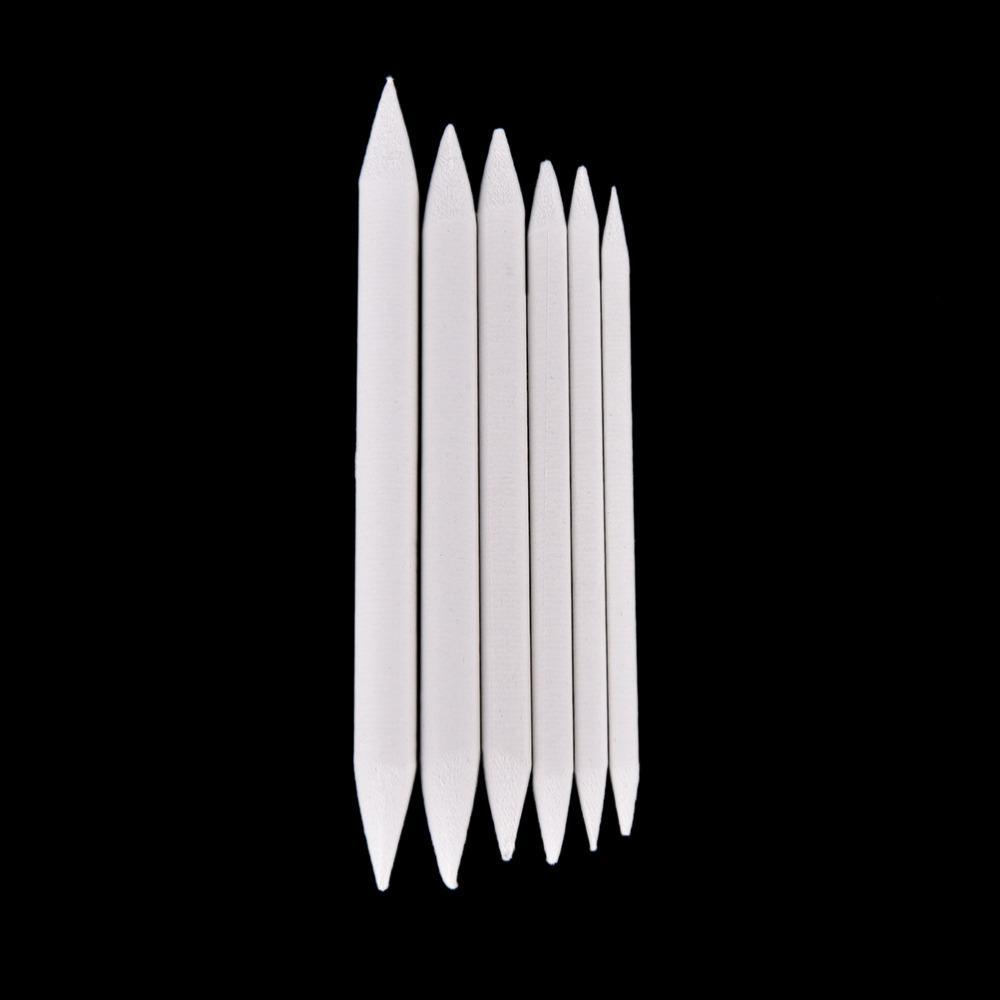 파스텔 숯 믹서기 종이 그루터기 토 틸론 스케치 드로잉 화이트 펜 사무실 학교 그리기 그림 용품 6 개 / 대 X30set
