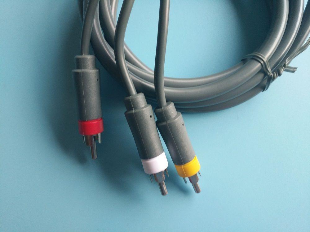 1.8m Av Audio Video Optical Cable Cord For Microsoft Xbox 360 ...