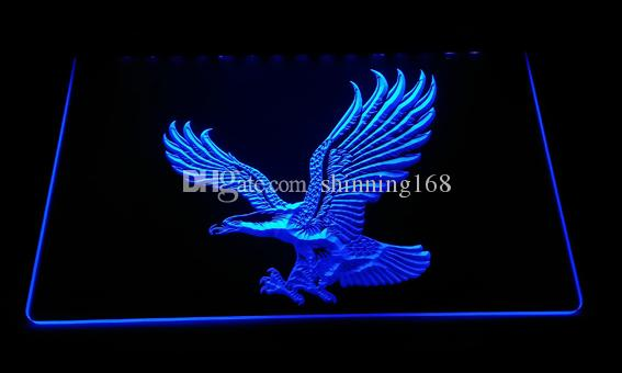 LS3000-b Eagle Neon Light Sign Decor Free Shipping Dropshipping Wholesale 6 colors to choose