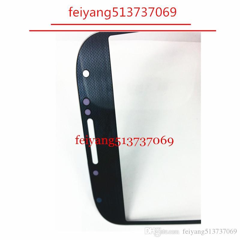 العلامة التجارية الجديدة الزجاج الخارجي لسامسونج غالاكسي S4 i9500 9505 شاشة LCD تعمل باللمس محول الأرقام جبهة زجاج عدسة