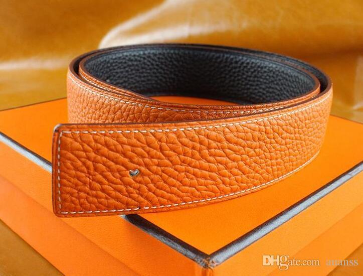 جديد أزياء الرجال أحزمة الأعمال الفاخرة ceinture السلس الذهب والفضة مشبك أحزمة جلد طبيعي للرجال الخصر حزام الشحن مجانا
