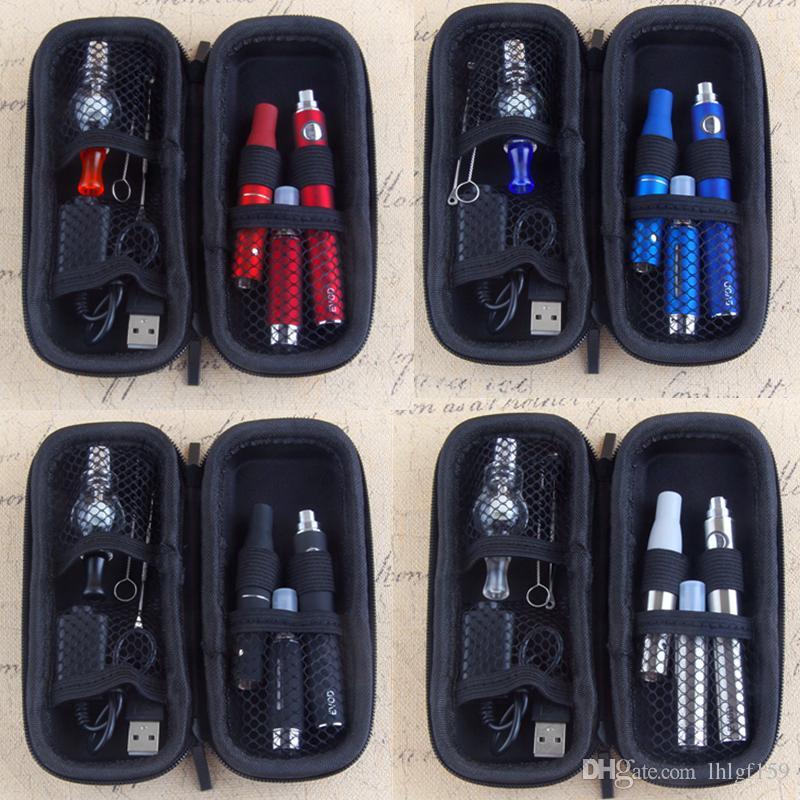 MOQ 2 PZ 3 in 1 VAPE STARTER KITS EVOD 510 batteria 650 900 1100 mAh vapes penna mt3 per vapore olio fa asciutto Herb Globe Globe Wax Wee kit vaporizer
