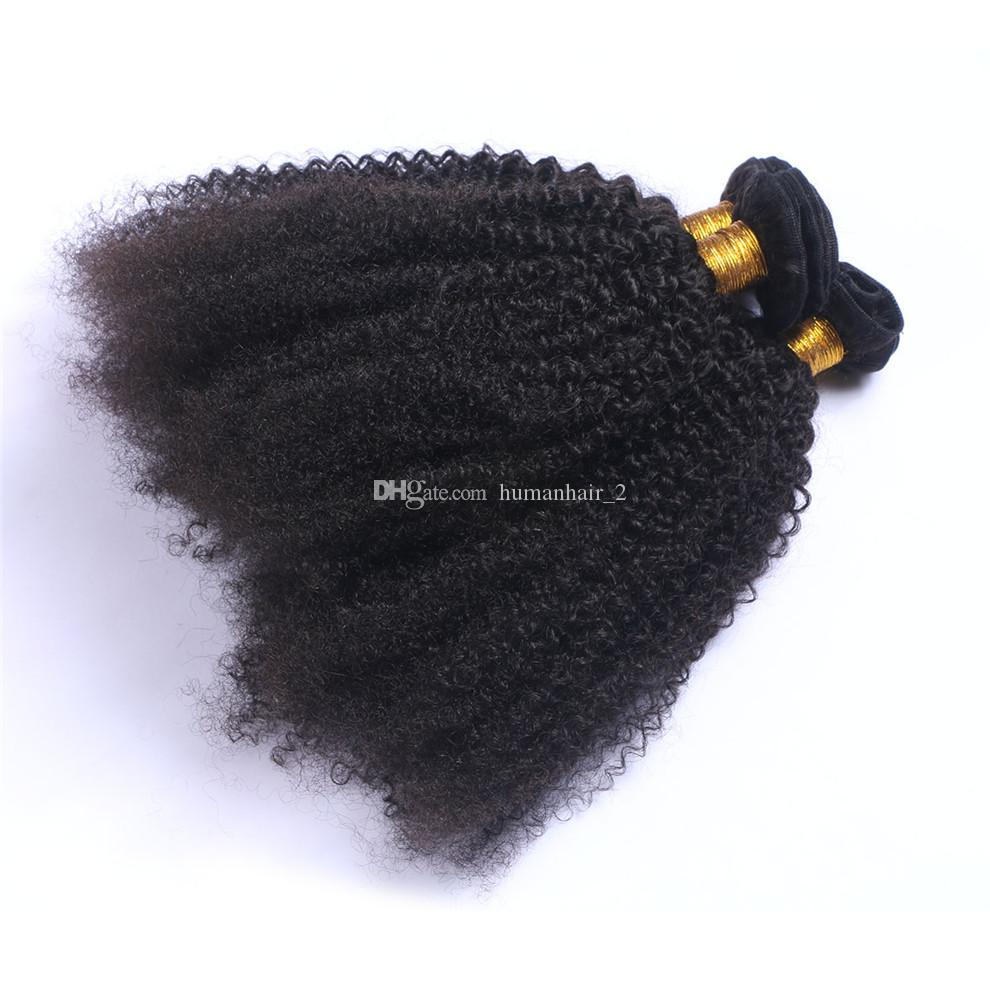 Brazilian Human Hair Kinky Curly Extensions Weaves 3Pcs Unprocessed afro curly Human Hair Bundles Real Pics No Tangle No Shed