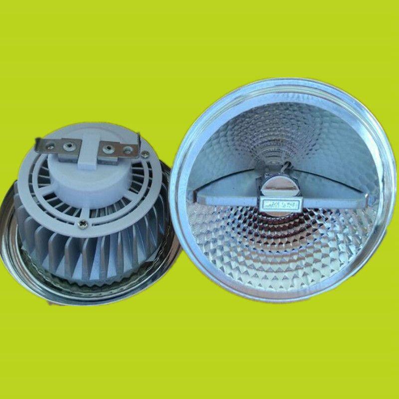 Livraison gratuite 15W Dimmable G53 AR111 QR111 lumière ampoule LED AR111 AC85-265V LED Downlight projecteur à LED