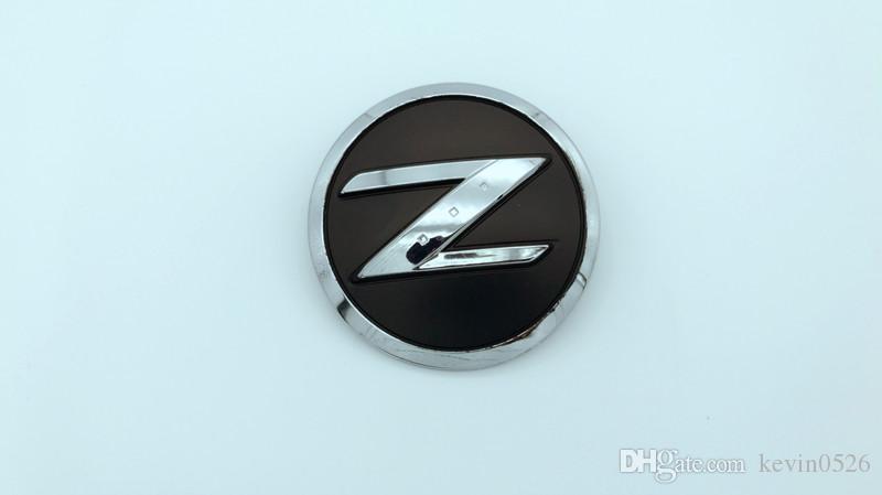 1pcs voiture badge chromé emblème Z pour Fairlady 350Z 350ZX Z33 Z32 Logo 3D noir