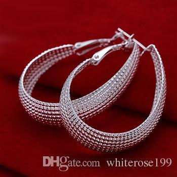 Wholesale  - 最低価格クリスマスギフト925スターリングシルバーファッションイヤリングE85
