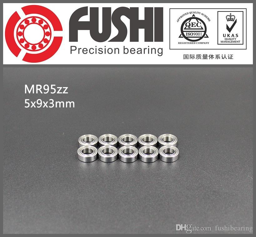 MR95ZZ Bearing 5*9*3 mm 10 PCS ABEC-1 Miniature MR95 ZZ Ball Bearings MR95Z L-950ZZ 5x9x3 MM
