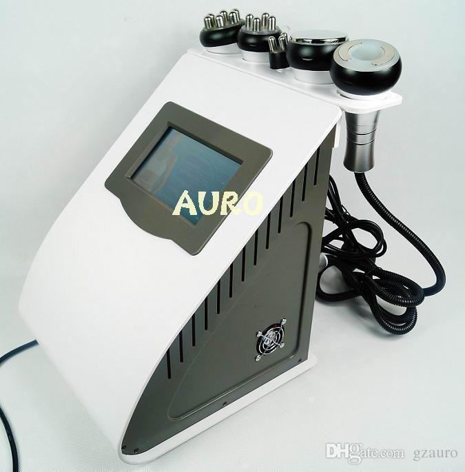 최저 가격 5 기능 초음파 cavitation 슬리밍 기계 라디오 주파수 진공 cupping 미용실 사용 AU-61