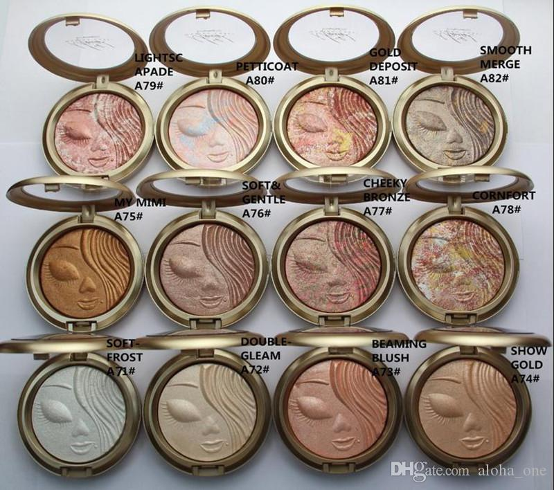 Factory Direct DHL Free Shipping New Makeup Face Holiday Powder Bronzer Extra Dimension Skinfinish Face Powder!12 Different Colors