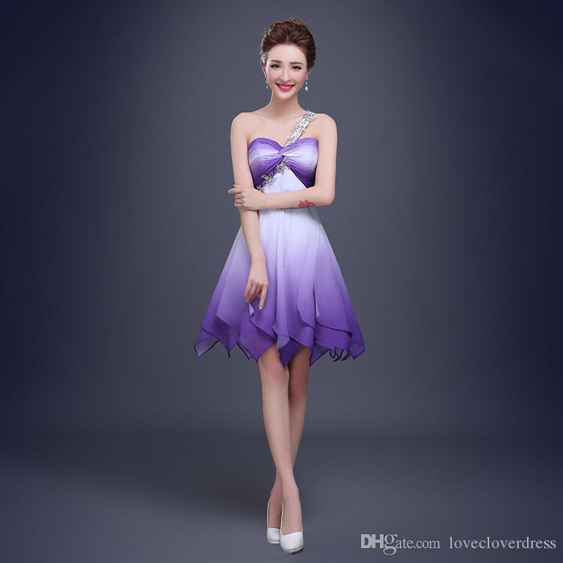New Sexy High Quality Simple Sexy Lavender Cocktail Dresses Lace Up ...