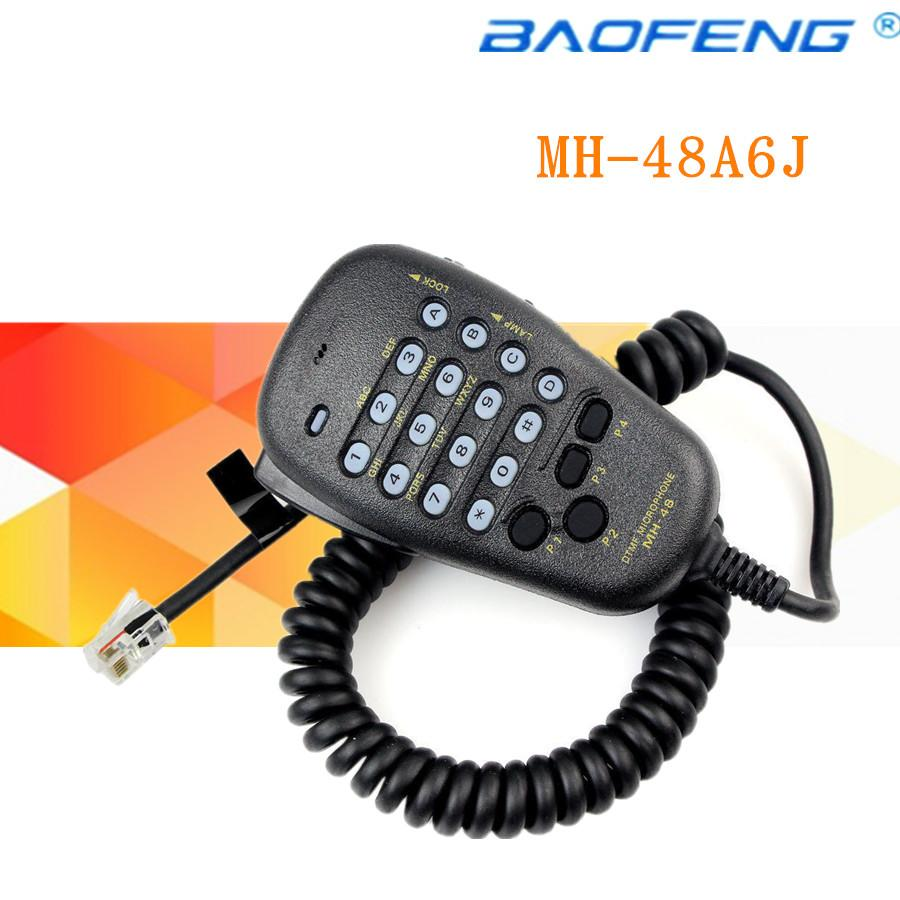 DTMF MH-48A6J Mic for Yaesu FT-7800R FT-8800 FT-8900R FT-7900R FT-1807 FT-1907