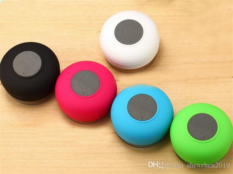 portable shower waterproof bluetooth speaker mini wireless bluetooth handsfree speakers for ipad iphone 7 plus 5s