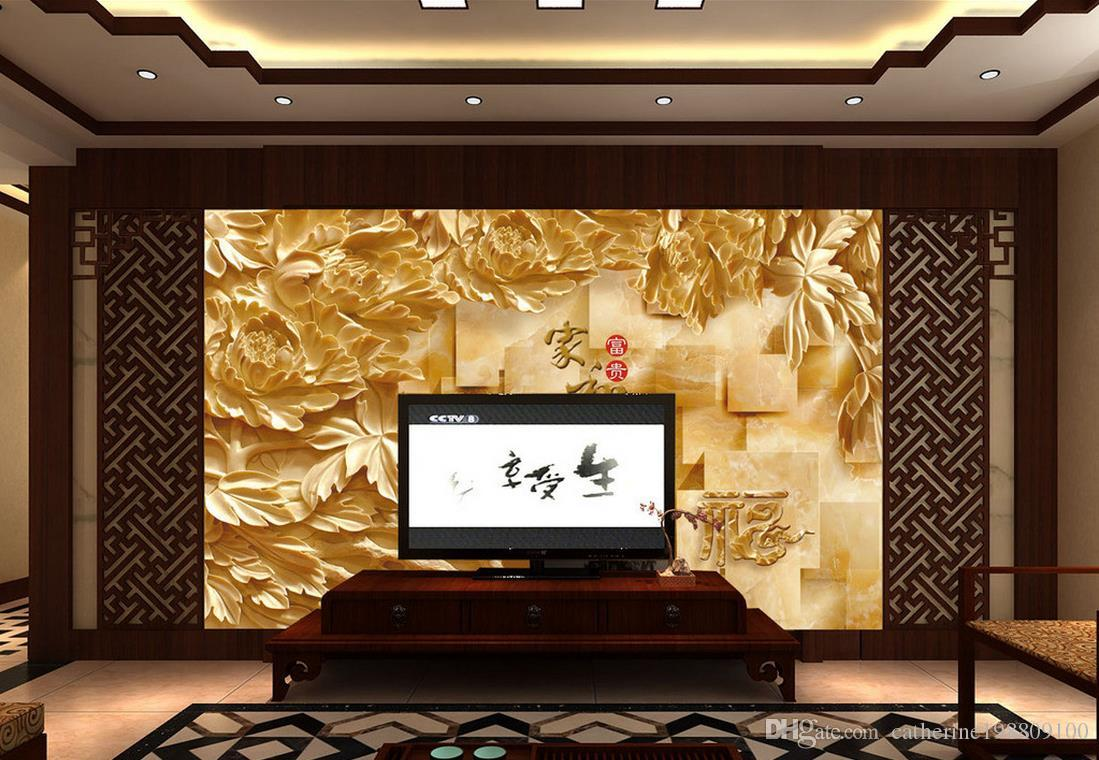 Marble Tv Wall Design