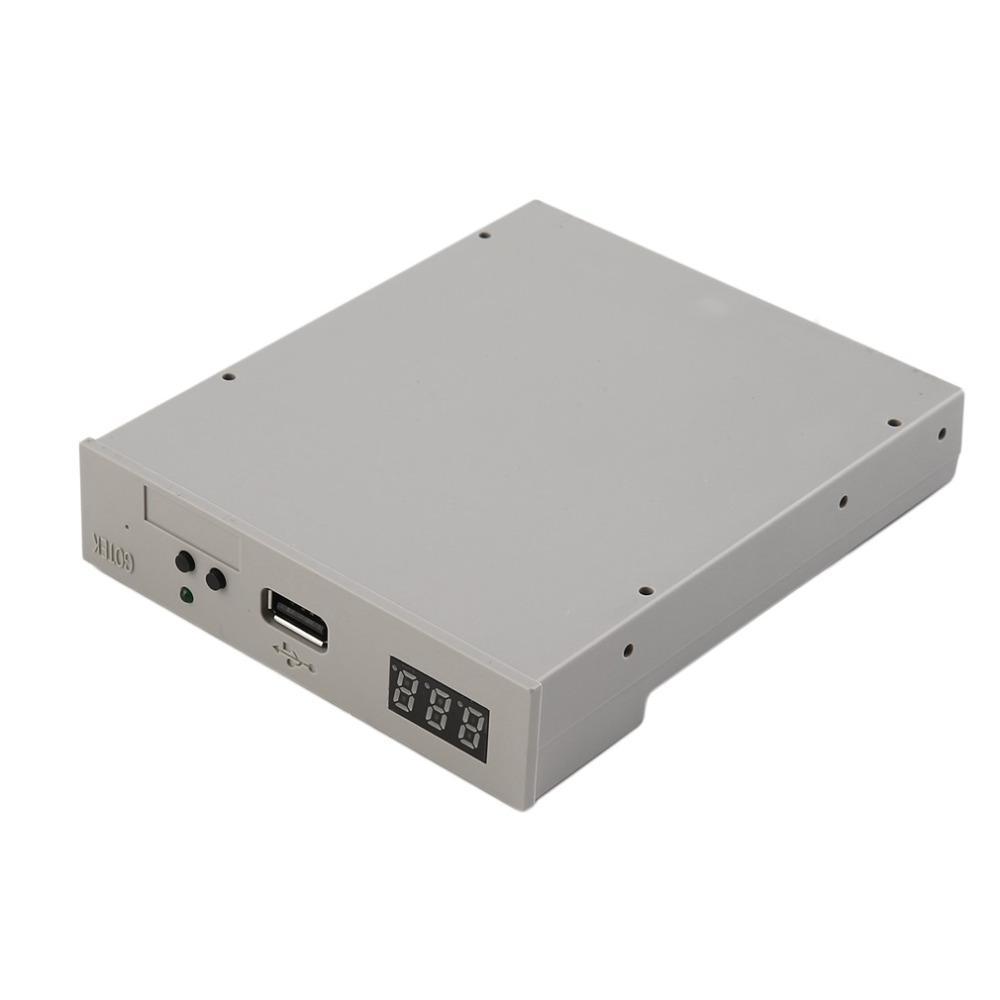 """Freeshipping Yüksek Kalite 3.5 """"1000 USB Disket Sürücü Emulator Simülasyon 1.44MB Roland Klavye beyaz"""