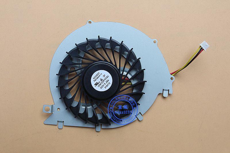 dispositivo di raffreddamento per SONY VAIO SVF152 SVF1521V9CW SVF152A23T ventola di raffreddamento CPU E233037 UDQF2ZR76CQU