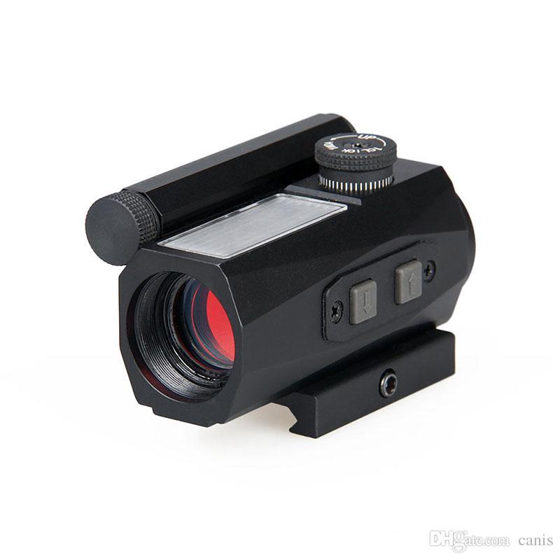 Canis Latrans Tactical 1x20 Red Dot Scope Lega di alluminio con punto rosso 2moa per esterno cl2-0104