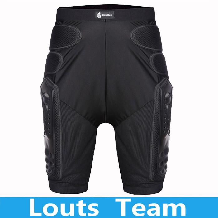 WOLFBIKE Overland Motorcycle Armor Pants Leg Ass P...