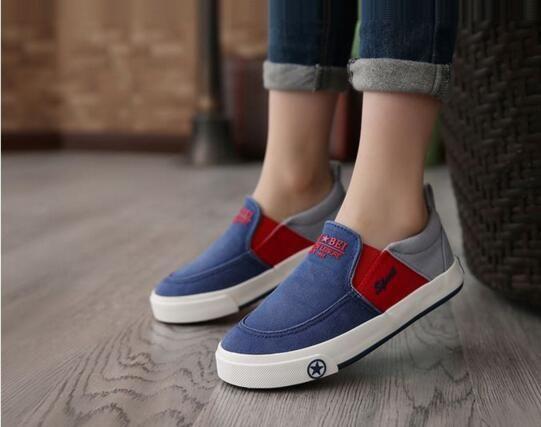 2017 Brand Designer Children Boys Shoes