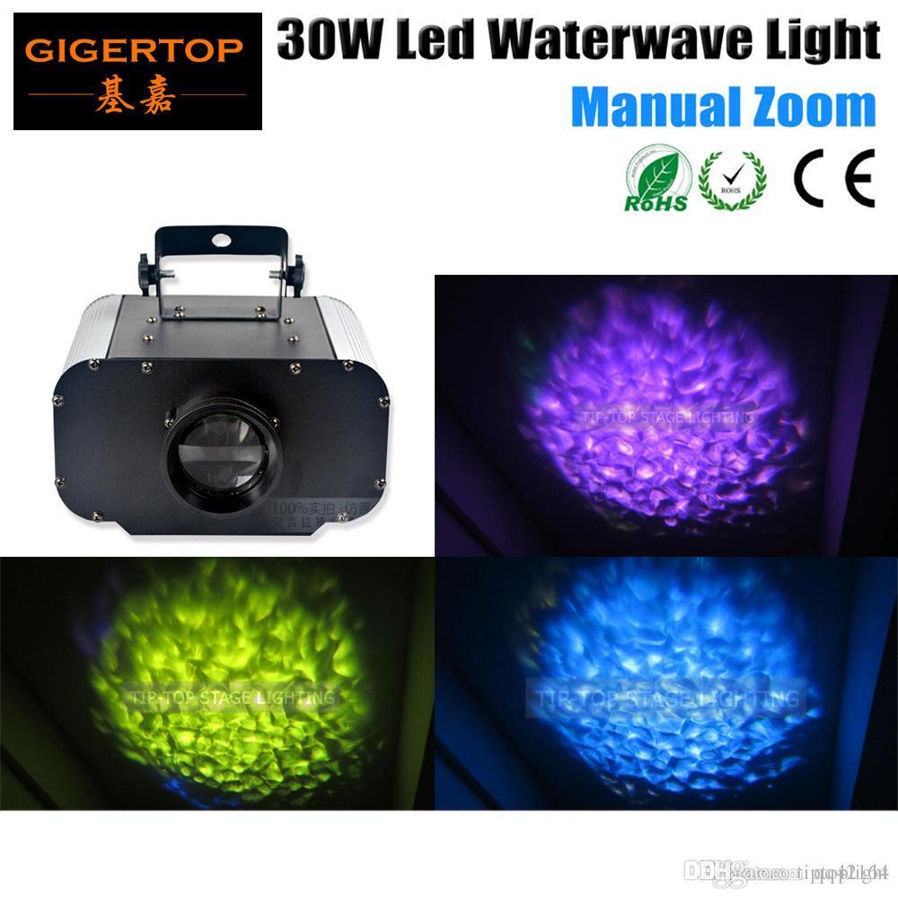 Freeshipping 30W LED-Wasser-Licht-Wasser-Effekt Plattenwelleneffekt für Disco, Party Licht, Club-110V-240V Heißer Verkauf für Hochzeit TP-E06