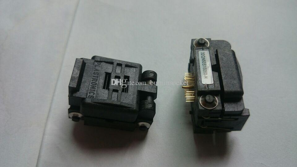 Plastronics QFN32PIN IC TEST LOKMA 32QN50S15050 0.5mm ADIMDA İÇİNDE SOKET YANIK