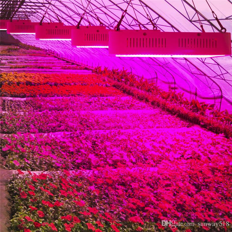 Spettro completo 1200W 1200pcs SMD 986Red: 136Blue: 8UV: 8IR: 32White: 32Warm Greenhouse LED Coltiva la luce Hydroponics Garden Plant Lamp