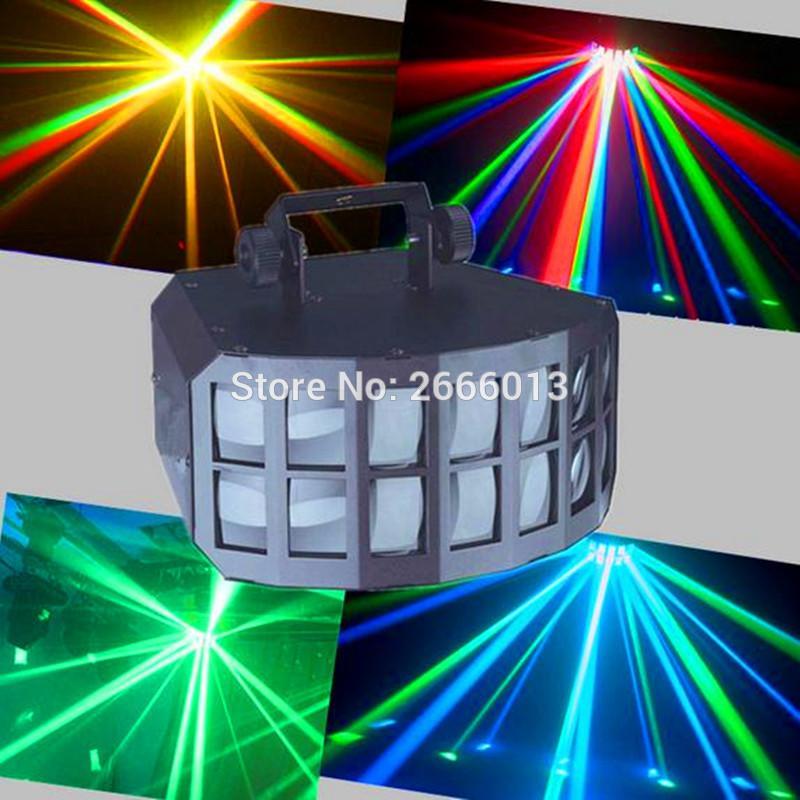 RGBW 4IN1 2X10W Professionnel KTV Bar Club Soirée De Mariage Luminaires LED Double Papillon DJ Disco Lumière BEAM