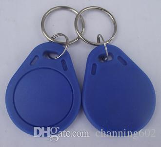 Best cheapest Factory price make High quality TK4100 125khz 100pcs/lot ISO11785 ABS RFID Keyfob Business Key Tags Key Chain Tag