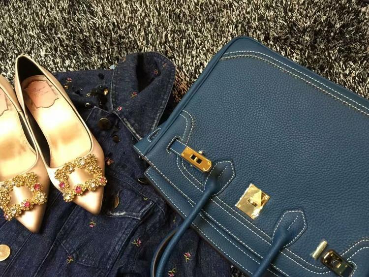 2016 Luxury H Handbag Women\`s Litchi Cowhide Messenger Bag Genuine Leather Famous Designer Shoulder Crossbody Totes Ladies Bolsa (27)