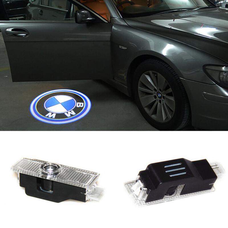 شبح ظل ضوء ترحيب ليزر بروجيكتور أضواء LED باب السيارة شعار لسيارات BMW M E60 M5 E90 F10 X5 X3 X6 X1 GT E85 M3