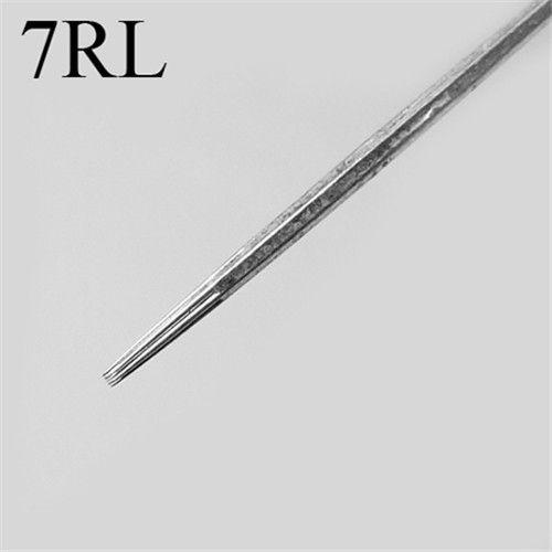 Hot Pro 50pcs/lot 7RL Pre-made Sterilized Tattoo Needles Round Linerf Disposable Tattoo Gun Kits Supply
