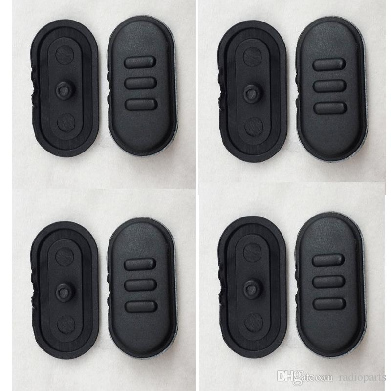 10Pcs  PTT Button For Mag One A10 Black Color