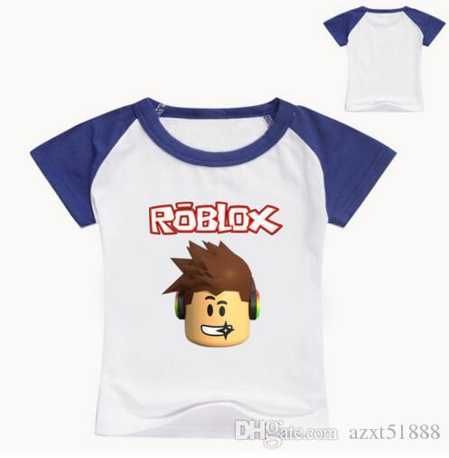 2017 Roblox Shirt For Girls Children Summer T Shirt For Boys Red Nose Day Costume For Baby Girls Shirt White Tops Baby Tees