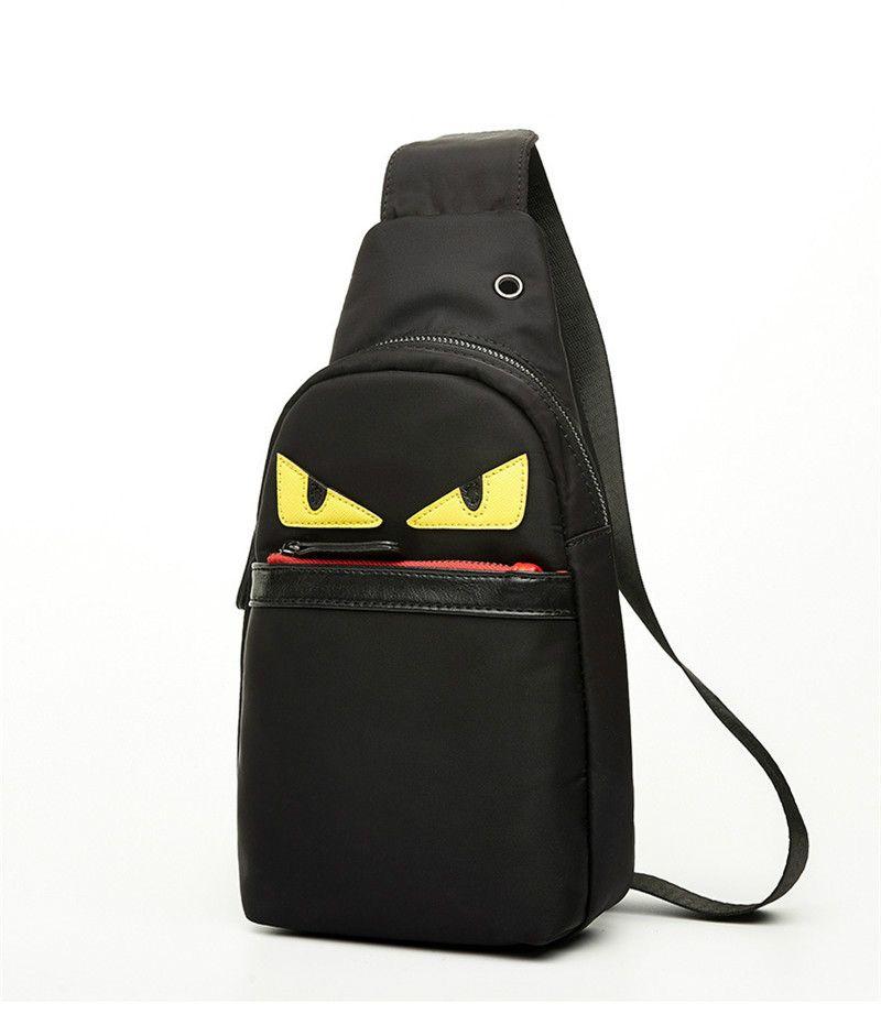 New Men Bags Casual Travel Bolas Masculina Women Messenger Bag Leather Canvas Waist Crossbody Shoulder Bag High Quality