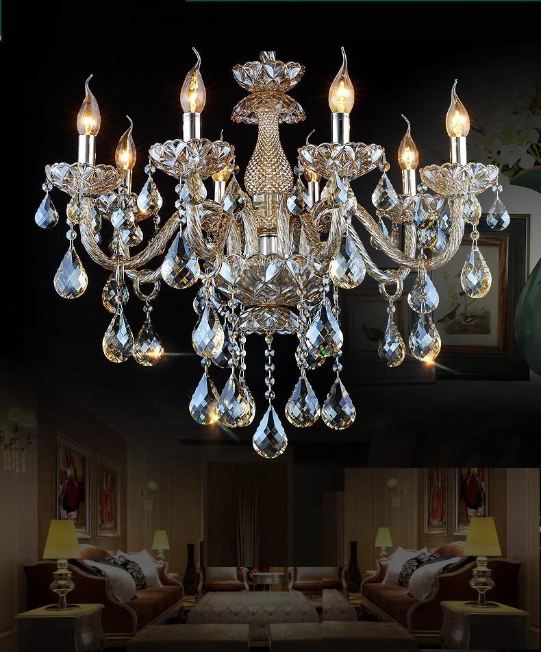 Luxury Crystal Pendant Chandelier lights K9 crystal lights Bedroom Living Room Chandeliers Crystal Modern Chandeliers Lustres
