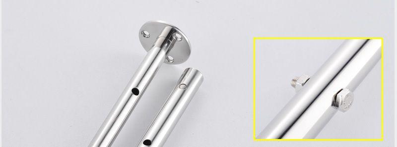 hm Bathroom Shower Head with 4 Ways SUS304 20inch Rain & Mist & Brass Slide Bar & Brass Spout & Brass Handheld Shower Set (16)