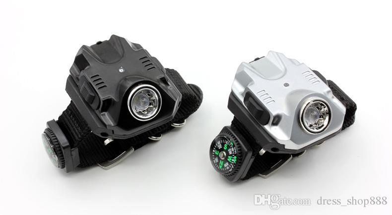 Night run special equipment LED lights glare lighting glare watch wholesale watch watch Flashlight Flashlight