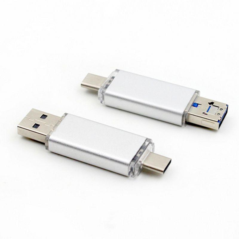 Type-C Micro USB OTG USB 3.0 Flash Drive 16 Go 32 Go 64 Go Pendrive Smart Phone Pen Drive mémoire clé USB lecteur flash U