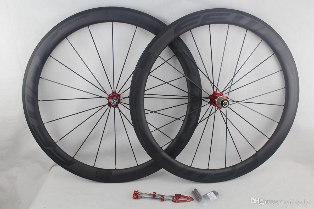 블랙 데칼 빨리 감기 F5R 전체 탄소 자전거 바퀴 50mm 현무암 브레이크 표면, 클린 처 관 도로 자전거 바퀴 UD 매트 FFWD
