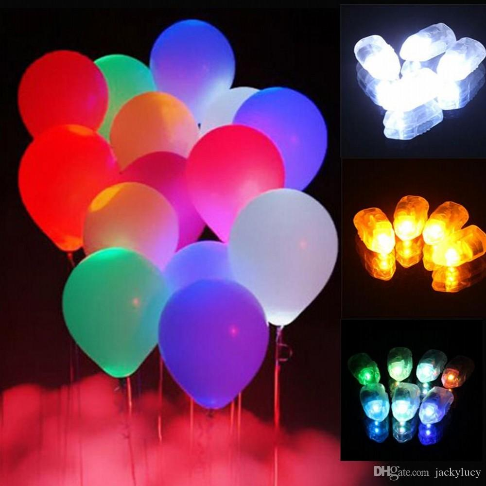 Mini LED Balloon Lamp Ball Paper Lantern Light Ornament for All Kinds of Festival Party Decoration Free Shipping