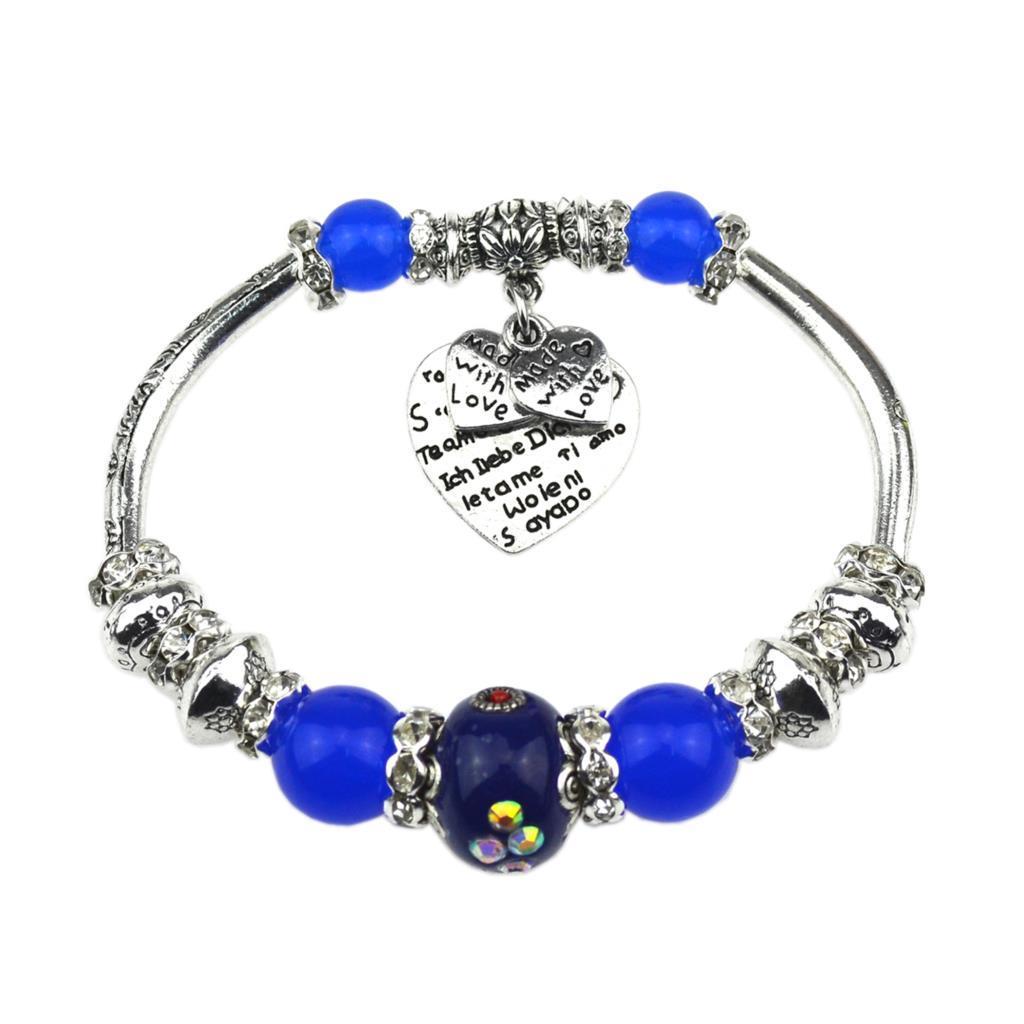 Wholesale- 2017 New Fashion Indonesia  Silver Bracelets & Bangles Best Design Bracelets for Women Fine Jewelry Valentine's Day Gift