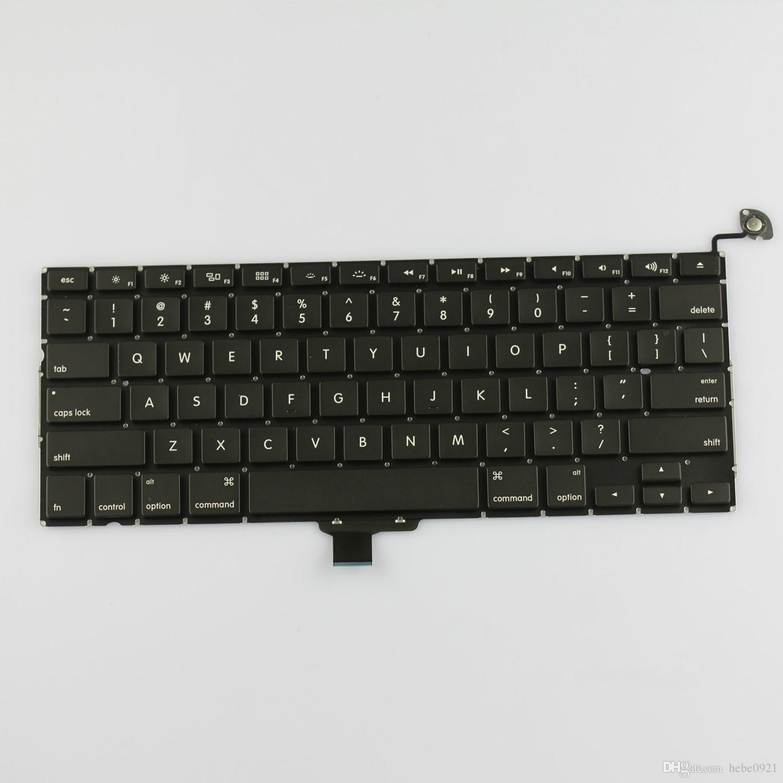 Yeni ABD Klavye için Macbook Pro A1278 13 '' Tekboynuz Klavye ABD Düzeni MB990 MB991 MC374 MC375 MC700 MC724 2009-2012