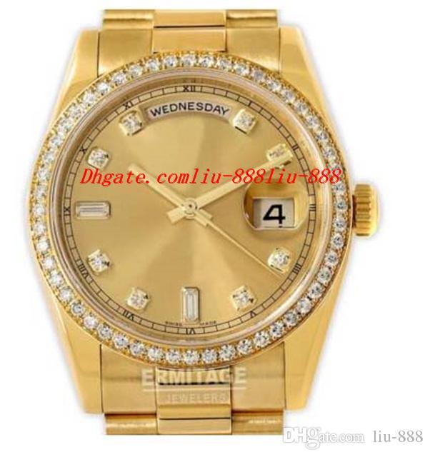 ORIGINAL Box Mens Unworn Watch 118348 Box & Papers 39mm Automatic Movement MAN WATCH Wristwatch Luxury Watches