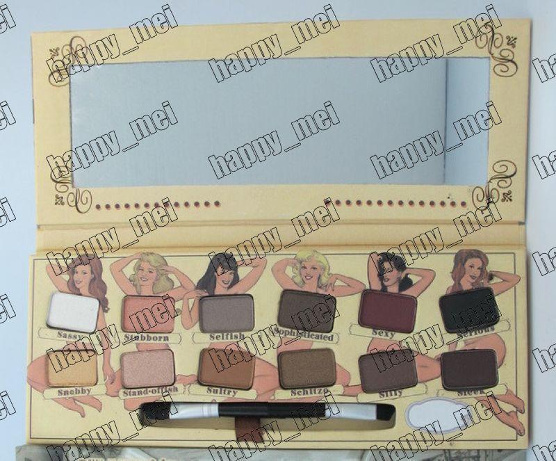 Factory Direct DHL gratis verzending nieuwe make-up ogen naakt oogschaduw palet 12 kleuren oogschaduw! 11.8g