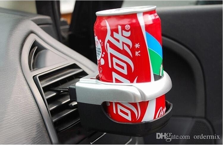Car Auto Camion Transport aérien Condition Vent de sortie peut boire bouteille d'eau Tasse à café Montage sur pied Accessoires de porte