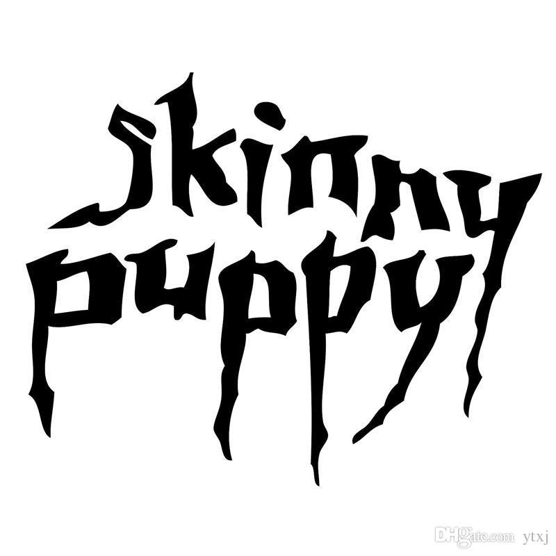 Skinny Puppy Funny JDM Car Sticker Fits Truck Window Bumper Fuel Tank Cap Auto Door Vinyl Decal